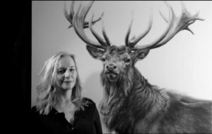 Lucy with Gunton Stag