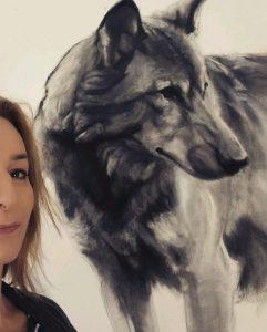 Lucy Boydell Framed Artwork - Dog